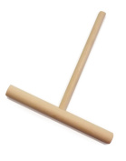 5.7- Inch Crepe and Pancake Batter Spreader. Made of Beechwood. By BICB