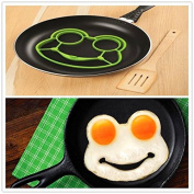 Kitchen gadgets cooking tools BUNNYSIDE UP molde de silicone fried egg mould Rabbit Pancake Ring Kid Gift surprise cooking eggs