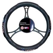 Northwest NOR-1COL605000001WMT Connecticut Huskies NCAA Steering Wheel Cover, 14.5 to 15.5