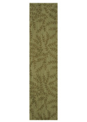 Heritage Lace Willow Table Runner, Olive, 33cm x 140cm