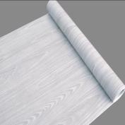 SimpleLife4U Light Grey Wood Grain Contact Paper Self Adhesive Shelf Liner Table Door Sticker 45cm by 3m