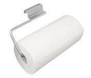 YouCopia Over the Cabinet Door Paper Towel Roll Holder, Stainless Steel
