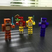4PCS Newest Five Nights At Freddy's Toy Freddys FNAF Figure Kids Toy