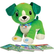 LeapFrog Read with Me Scout Toy with Different Book Genres, Green