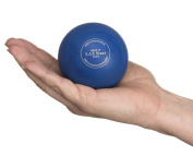 #1 Premium Lacrosse Balls LAX Stars Massage Lacrosse Balls for Myofacial Release; Trigger Point Therapy; Muscle Knots, & Yoga Therapy, Pack of 2 Balls