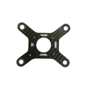Carbon Fibre Camera Anti Vibration Damping Plate Mount Absorbing Board for DJI phantom 3 Professional and Advanced
