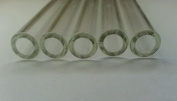 (Ship from USA) 4 inch long 5 Piece Pyrex Glass Tubes 12 mm OD 2 mm Thick Wall Tubing Heavy *GWE849F EP-21RT11197