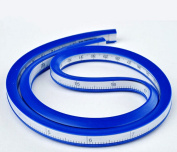 YIYATOO 30 Inch (75cm) Flexible Curve Ruler Flex Design Rule, Ideal for use
