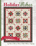 Holiday Wishes Quilt Pattern Book by Sherri Falls for It's Sew emma