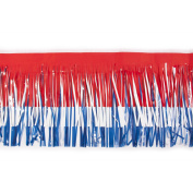 Victor Corps Specialty Red, White, and Blue Vinyl Fringe