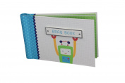 "Baby Photo Album 4 x 6 Brag Book ""Baby Bots"" - Boy / Girl Baby Shower Gifts, - Holds 24 Precious Photos, Acid-free Pages"