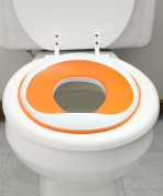 52% OFF (Sale Ends June 15) Potty Seat | Non-Toxic (BPA- & Phthalate-Free) & Safety Certified | Non-Slip Surface | Best Portable Toddler Toilet Training Seat for Kids, Baby Boys & Girls | Orange