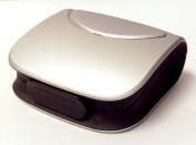 Silver Hearing Aid Hard Case