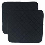 LUXEHOME Set of 2 Waterproof Cosy Seat Protector Cushion 60cm x 50cm