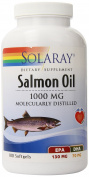 Solaray Salmon Oil, 1000 mg, 180 Count