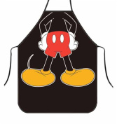 OYSRONG Funny Comics Disney Mickey Mouse Individuality Kitchen Cooking Adult Apron for Birthday Gift