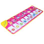 Keyboard Carpet, PeleusTech Animal Pattern Baby Touch Play Keyboard Musical Music Carpet Mat Blanket Early Education Tool