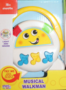 Baby Musical Walkman with light and sounds!