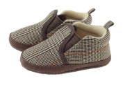 Baby Boys Grandpa style slippers 0 - 24 Months BT1568