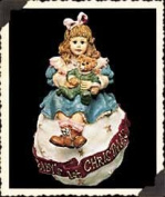 "Boyds Yesterday's Child ""Amy & Sam ... Baby's First Christmas"" Ornament"