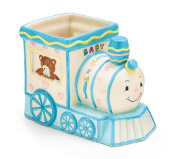 Smiley Choo Choo Train Engine Planter/holder Adorable Baby Nursery or Shower Decor