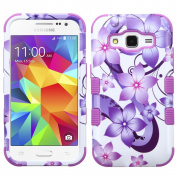 MyBat Cell Phone Case for Samsung Galaxy Prevail Lte/G360/Core Prime - Retail Packaging - Purple