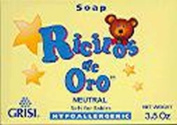 Grisi Ricitos De Oro Hypoallergenic Baby Soap - Neutral 100ml