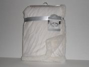 Berkshire Baby Gallery Collection Baby Sherpa Blanket 80cm X 100cm