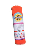 Luv Bug Company UPF 50+ Sun Protection Blanket, Orange