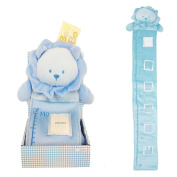 NEW Teddy / Rabit Design Baby Boy's & Girl's Growth Chart Portable Roll-up/hang Height Chart Measures babies to Kids 50 cm - 140 cms/1.2mes