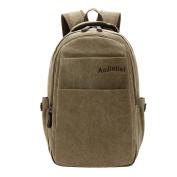 Canvas Vintage Backpack, Fletion Retro Designer Rucksack Travel Casual Shoulder Bag Handbag College Daypack Satchel Computer Laptop Bags, Ideal for Sports, Gym, Hiking, Travelling, Camping