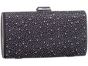 Womens Ladies Diamante Hard Case Prom Party Evening Dressy Occasion Hand Clutch Bags - U51