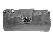 """'Silver Marble Style UMH & # X160, Genuine Leather, """"Janell"""