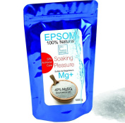 Epsom Salt ● SPA and At-Home Care Soaking Pleasure ● A pure, time-tested mineral ● Health, Beauty , Fitness & Wellness, Crafts, Gardening bleumarine Bretania 1000 g