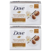 Dove Purely Pampering Shea Butter Beauty Bar 100g - Pack of 6, Total 24