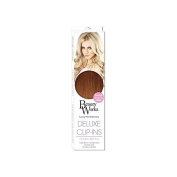 Beauty Works Deluxe Clip-In Hair Extensions 46cm - Sunkissed Caramel 6/27T