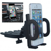 Bluelans® Universal Smartphone Car CD Slot Mount Holder Cradle Stand for iPhone 6/ 6+ Samsung Galaxy S5/S4/S3 Note 2/3/4
