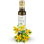 Certified Organic Cold Pressed St. John's Wort Oil 250ml Biopurus