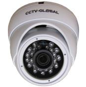 1080P WHITE HD TVI 2.4MP SONY SENSOR CCTV DOME CAMERA 3.6mm FIXED LENS 20M IR