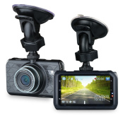 Car Dvr, [Wirecutter's Pick] Z-Edge Z3 7.6cm Screen 2K Ultra Car Dash Cam with Full HD 2560 x 1080, G-sensor, WDR, 10-Glass Lens, Motion Detection, Ambarella Chip, Parking Monitor, 32GB Card Included
