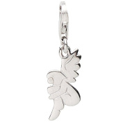 Basic 22.VX392 Silver Women's Charm Angel 925 Sterling Silver