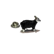 Black Sheep of the family and very detailed, supplied in gift box, lapel pin, tie pin, cap pin, collectable etc
