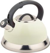 Buckingham Whistling Kettle, Cream, 3.0 Litre