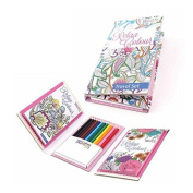Travel colouring sets