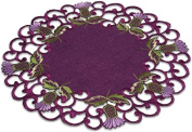 Doilies (Large) in a Glencoe Thistle Design.