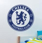 Blue Football Team CHELSEA Vinyl Football Fans Wall Stickers Art Decals Christmas Home Decor Wallpaper for Kids Boys Room Bedroom