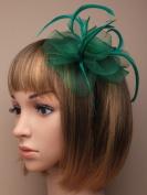 Allsorts® Green Aliceband Headband Fascinator Ladies Day Races Weddings