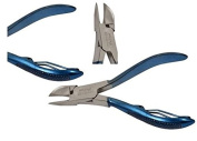 Professional Toe Nail Clipper Cutter Nippers Thick Nail Blue Gripped Handle