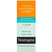 Neutrogena Spot Stress Control Cream 40 Ml With Microclear - Pack Of 4