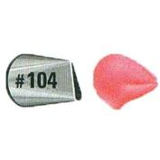 JEM Medium Petal/Ruffle Nozzle #104